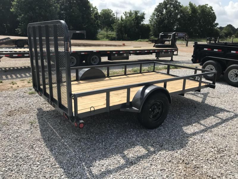 2018 Load Trail 77X12 GRAY Utility Trailer
