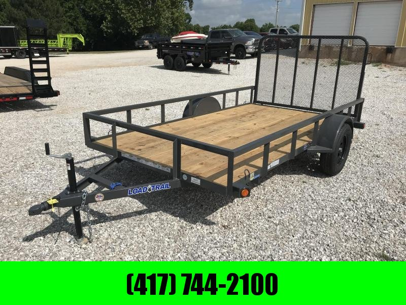2018 Load Trail 77X12 GRAY Utility Trailer