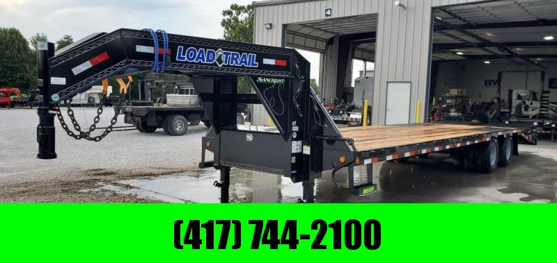 2020 Load Trail 102x32(27+5) TANDEM LOW-PRO GOOSENECK W/12K AXLES MAX RAMPS & TORQUE TUBE