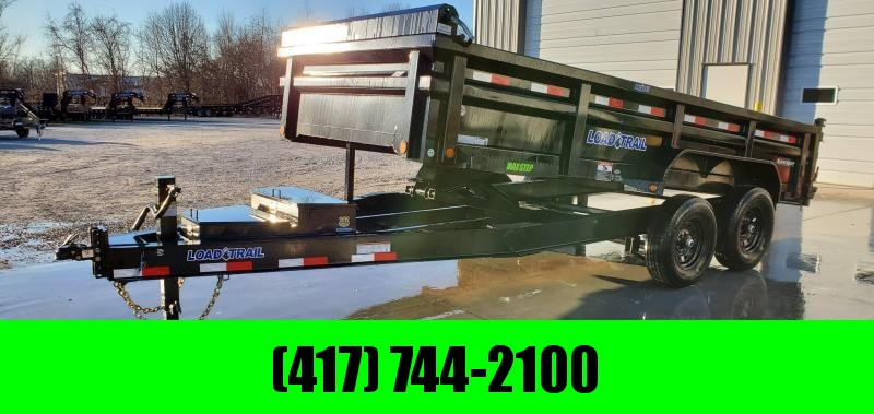 2020 Load Trail 83x16 TANDEM LO-PRO 14K HD DUMP W/ MAX RAIL BED & EXTRA TOOLBOX