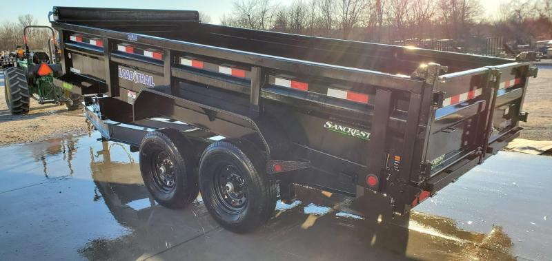 2020 Load Trail 83x16 TANDEM LO-PRO 14K HD DUMP W/ MAX RAIL BED & EXTRA TOOLBOX