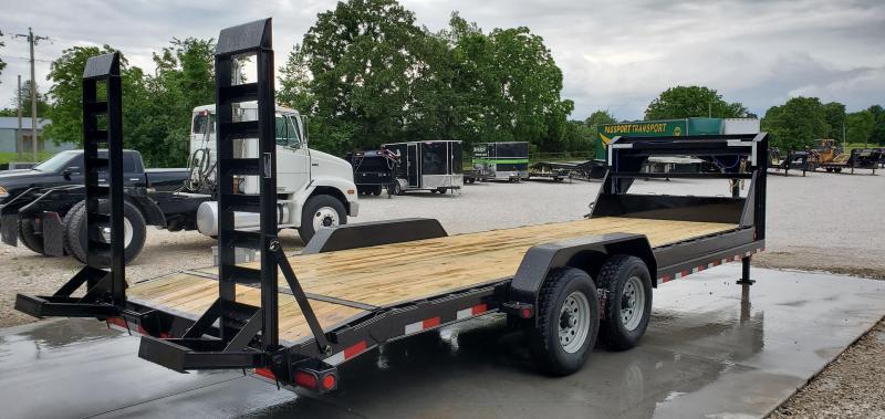 2019 Load Trail 83X24 TANDEM GOOSENECK CARHAULER W/ STAND UP RAMPS