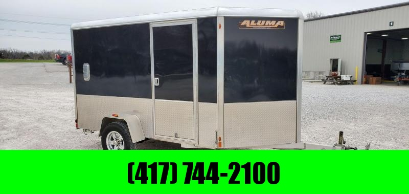 2017 Aluma 6X10 SINGLE AXLE ALUMINUM CARGO W/RAMP DOOR & INTERIOR PACKAGE