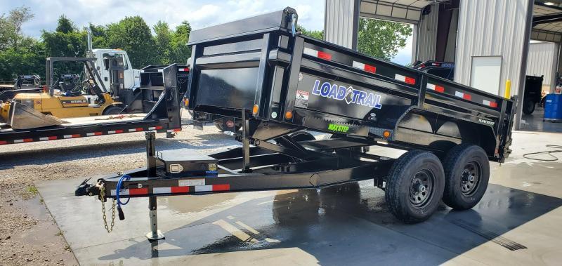 2019 Load Trail 72X12 TANDEM 10K DUMP W/MAX STEP SPARE MOUNT & RAPID CHARGING SYSTEM