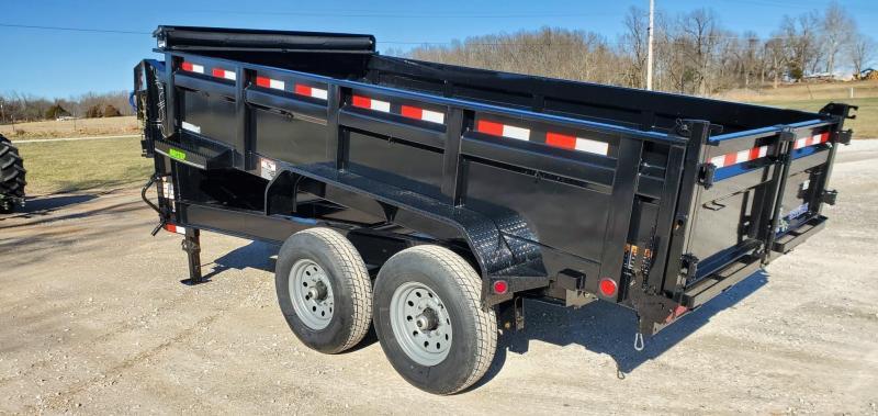 """2020 Load Trail 83X14 tANDEM 14K GOOSENECK DUMP TRAILER W/24"""" SIDES & 14K HOIST"""