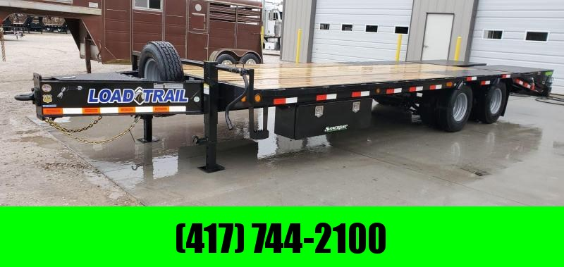 "2020 Load Trail 102X25 TANDEM LO-PRO PINTLE W/ 12K AXLES 14PLY TIRES 2 EXTRA 48"" TOOLBOXES"