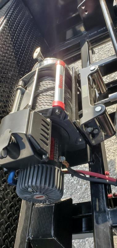 2020 MAXXD 83X14 TANDEM 14K ROLL-OFF GOOSENECK DUMP W/4 83X14X4' BINS