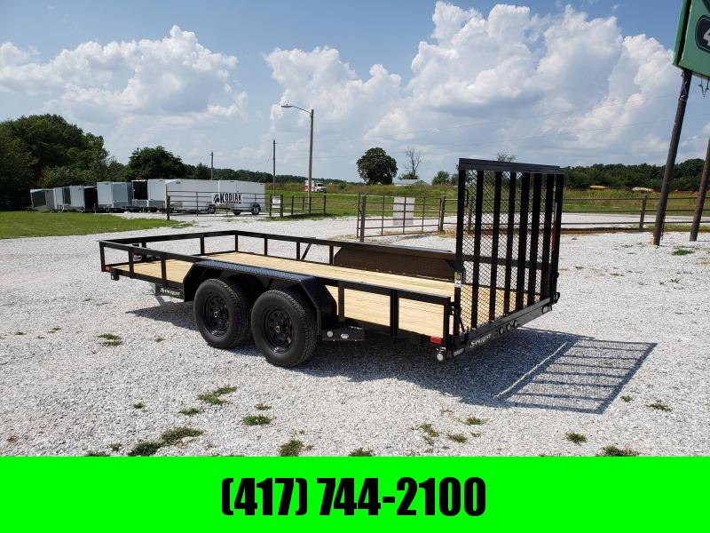 2020 MAXXD 83 X 16 TANDEM UTILITY TRAILER W/ 4FT GATE