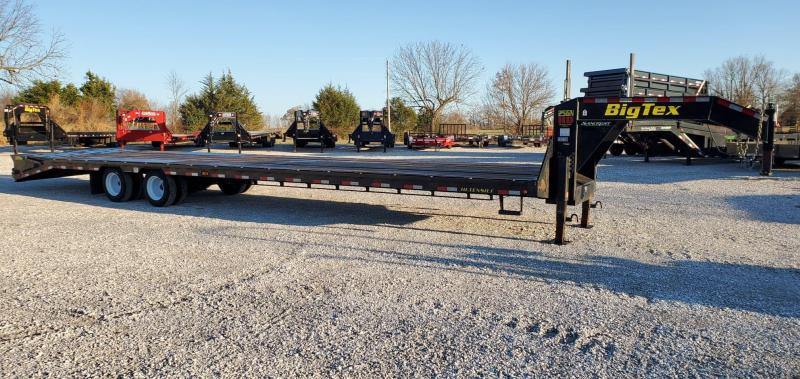 2018 Big Tex 102X40(35+5) TANDEM LO-PRO GOOSENECK W/12K AXLES 2-SPEED JACKS & MEGA RAMPS 17.5/16PLY