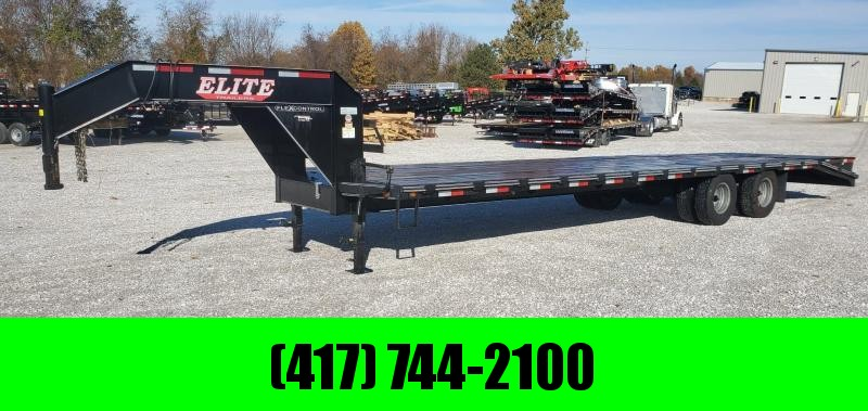 2019 Elite 102X32(27+5) LO-PRO GOOSENECK W/10K AXLES(ELEC.) MAX RAMPS & 14 PLY TIRES