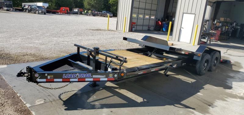 2020 Load Trail 83x22(16+6) TANDEM 14K TILT-N-GO CAR/EQUIPMENT HAULER