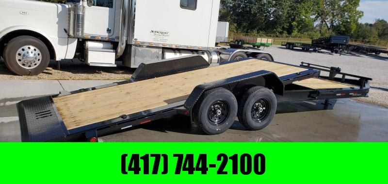 2020 Load Trail 83x22(16+6) TANDEM 14K TILT-N-GO CAR/EQUIPMENT HAULER
