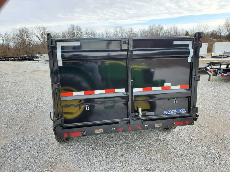 "2020 Load Trail 83"" x 14' Tandem Axle Dump Trailer ( 4ft Sides)"