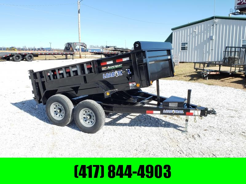 """2020 Load Trail 83"""" x 10' Tandem Axle Dump. BLACK FRIDAY.... ONE DAY ONLY.... CALL TODAY 417-844-4903"""
