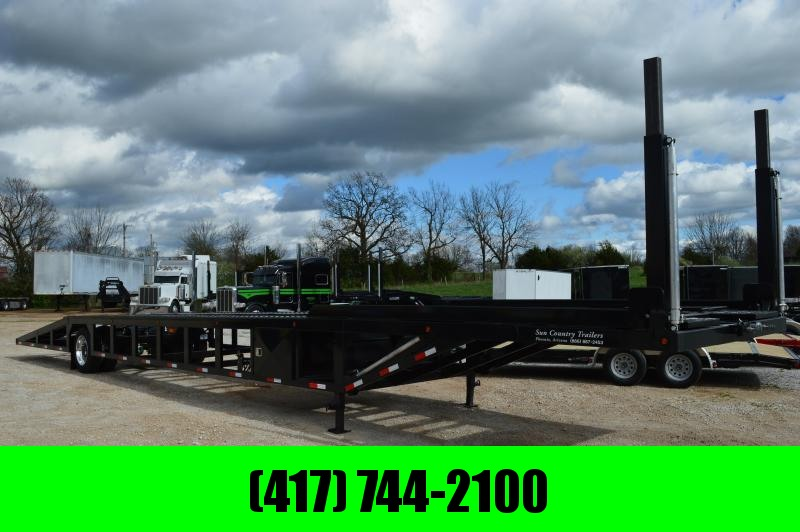 2019 Sun Country Single Axle 4 Car Trailer