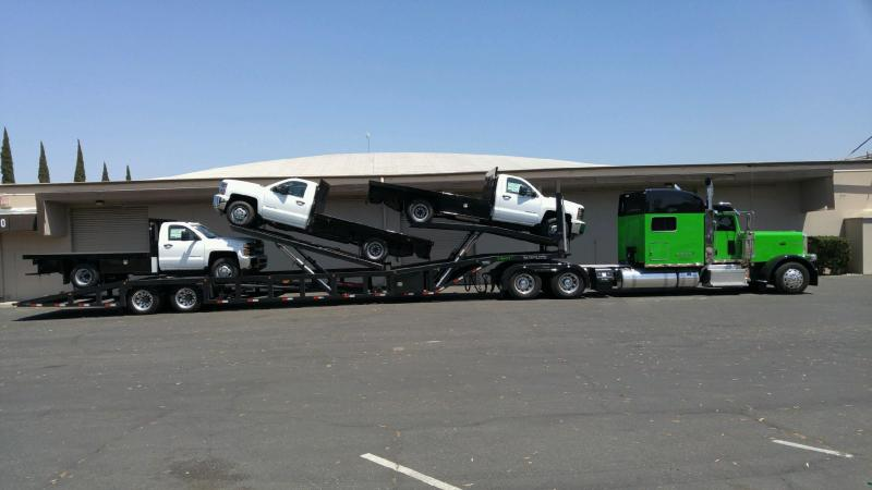 2020 53' NEXT GEN ANNIVERSARY 5 CAR HAULER Air Ride/ Air Brake w/ Two Lift and Tilt