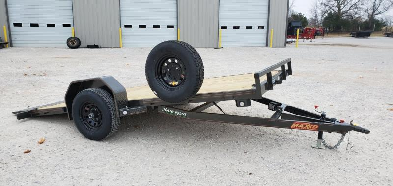2020 MAXXD 81X14 SINGLE 5.2K(ELEC. BRAKE) G4X GRAVITY TILT TRAILER