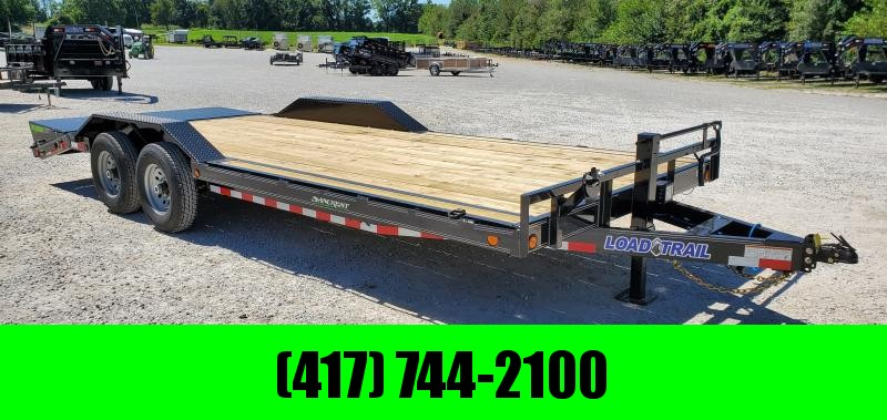 2020 Load Trail 102X22(19+3) TANDEM 14K CAR/EQUIPMENT HAULER W/MAX RAMPS