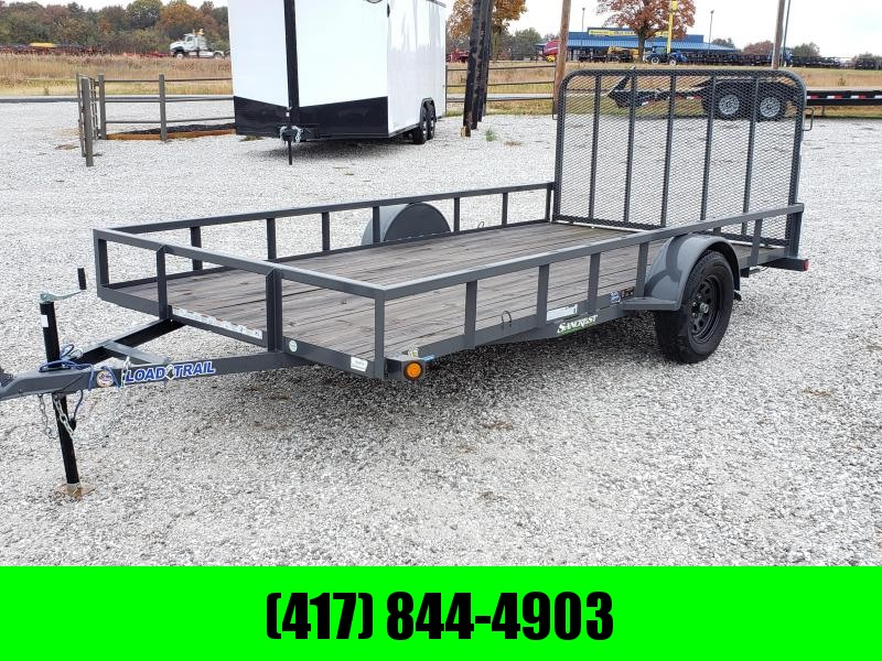 "2018 Load Trail 83"" x 14' Single Axle (2"" x 3"" Angle Frame)"