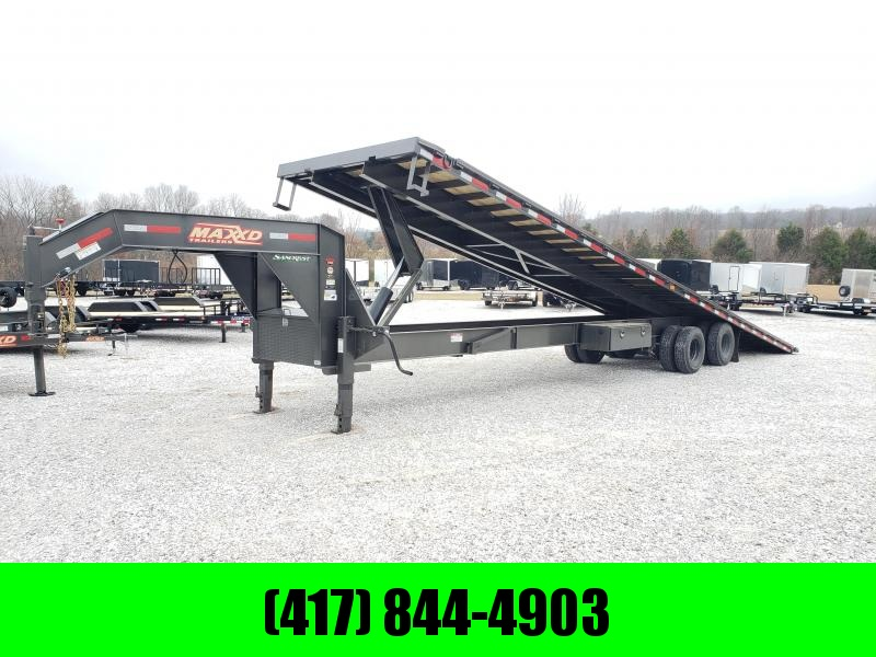 2020 MAXXD 102X40 FULL TILT TDX GOOSENECK W/12K(HYD DISC)(HDSS) 2 SPEED JACKS 14PLY TIRES