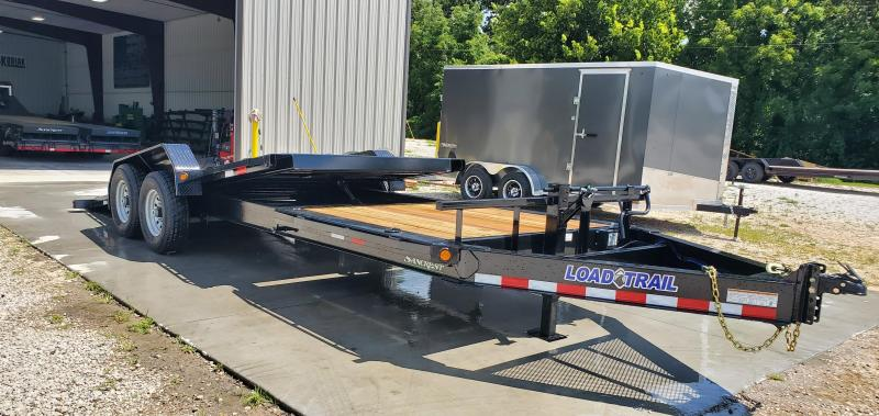2019 Load Trail 83X22(16+6) TANDEM 14K EQUIPMENT HAULER W/ GRAVITY TILT