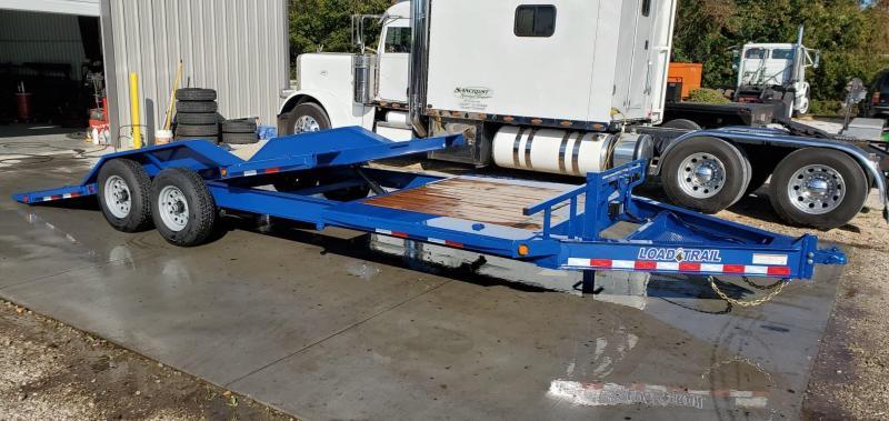 2020 Load Trail 102X22(16+6) TANDEM 14K TILT-N-GO CAR/EQUIPMENT HAULER