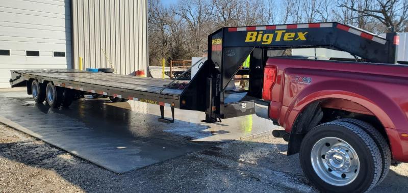 2019 Big Tex 102X30 TANDEM LO-PRO GOOSENECK W/12K AXLES(HDSS) MAX RAMPS 2 SPEED JACK 17.5/16 PLY