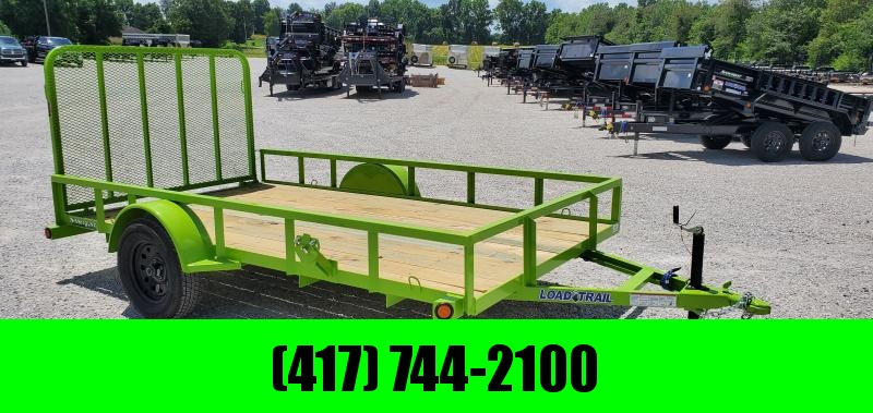 2019 LOAD TRAIL 77X12 SINGLE UTILITY W/TUBE TOP & GATE