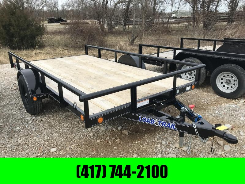 "2019 Load Trail 77X12 4"" CHANNEL TILT DECK Utility Trailer"