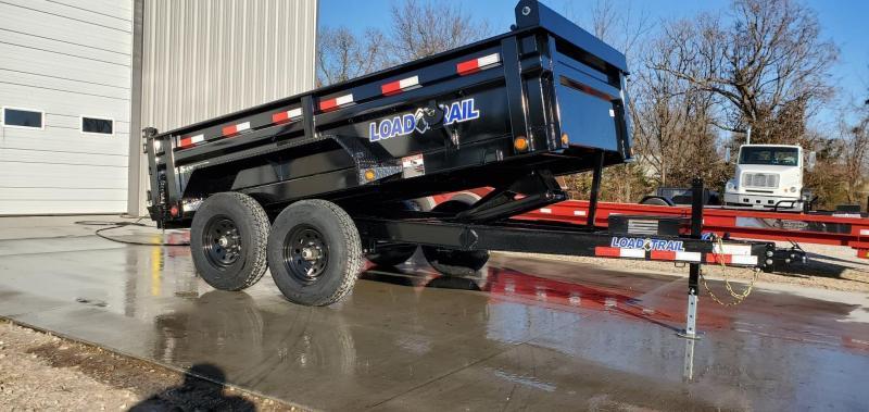 2020 Load Trail 72x12 TANDEM 10K DUMP W/MAX STEP & SPARE MOUNT