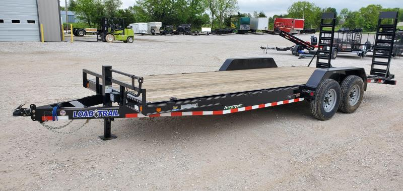 2020 Load Trail 83X22 TANDEM 14K CAR/EQUIPMENT HAULER W/STAND UP RAMPS