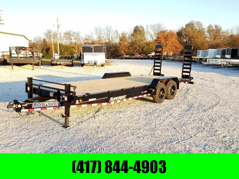 2020 Load Trail 83x24 TANDEM 14K CAR/EQUIPMENT HAULER W/ STAND UP RAMPS