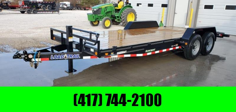 2020 Load Trail 83X20(18+2) TANDEM 14K CAR/EQUIPMENT HAULER W/SLIDE OUT RAMPS