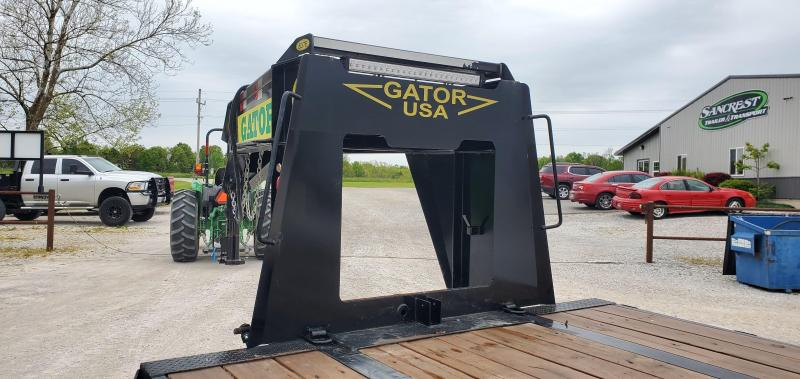 2019 GATOR 102X40 TANDEM LO-PRO GOOSENECK W/12K DISC BRAKE AXLES(HDSS) 17.5/16PLY TIRES & MAX RAMPS