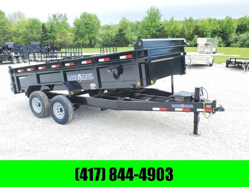 """2020 Load Trail 83"""" x 16' Tandem Axle Dump 14K"""