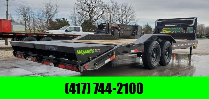 "2020 Load Trail 102X26 TANDEM 14K GOOSENECK EQUIPMENT/CAR HAULER W/ DRIVE-OVER FENDERS 8"" FRAME & MAX RAMPS"