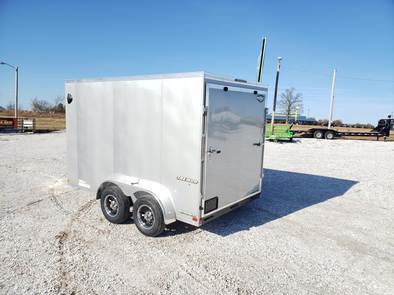 2020 Impact 7X12 TANDEM 7K SILVER CARGO  7' HEIGHT
