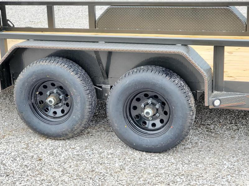 2020 MAXXD 83'' x 18' - 10K Tandem Axle Utility w/5200lb axles