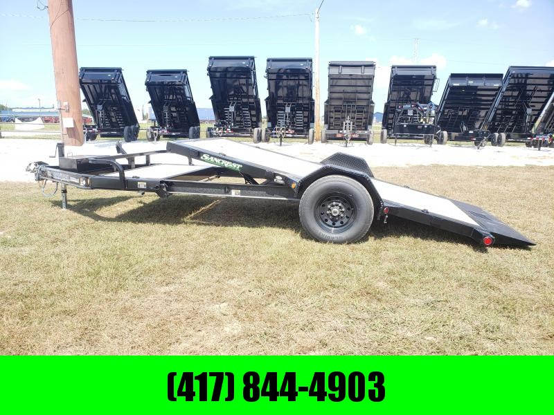 2019 Load Trail 83X15 SINGLE 7K AXLE TILT-N-GO Equipment Trailer W/I-BEAM FRAME & TOOLBOX