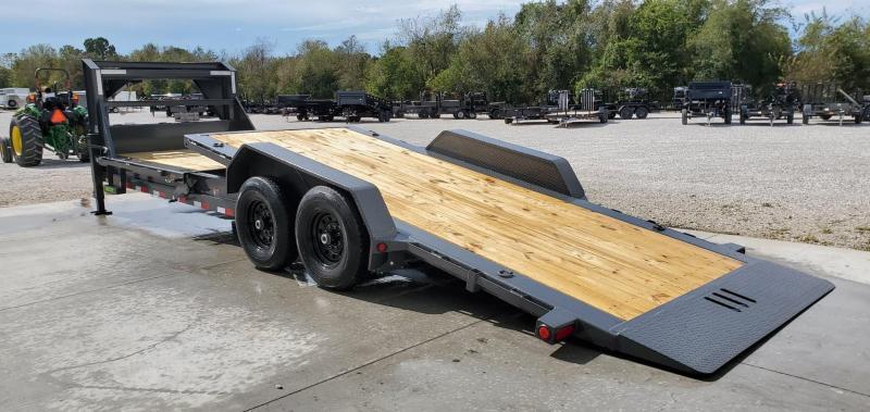 2020 Load Trail 83X24 TANDEM 14K GRAY TILT-N-GO GOOSENECK CAR/EQUIPMENT HAULER