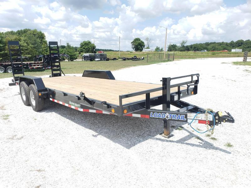 2019 Load Trail 83X22 Equipment Trailer W/FLIP RAMPS AND 7K AXLES