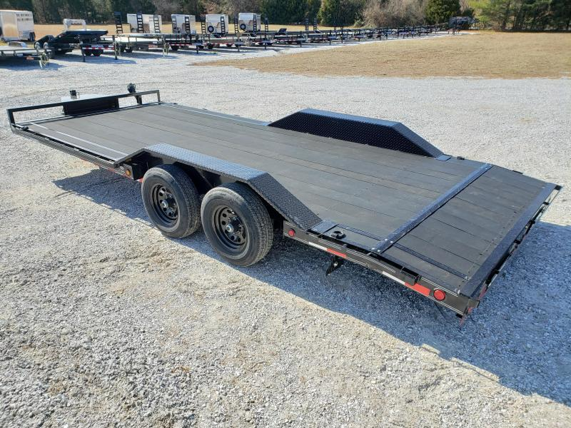 "2020 Load Trail 102"" x 20' Tandem Axle Carhauler W BLACK WOOD PRO FLOORING. CALL TODAY 417-844-4903"