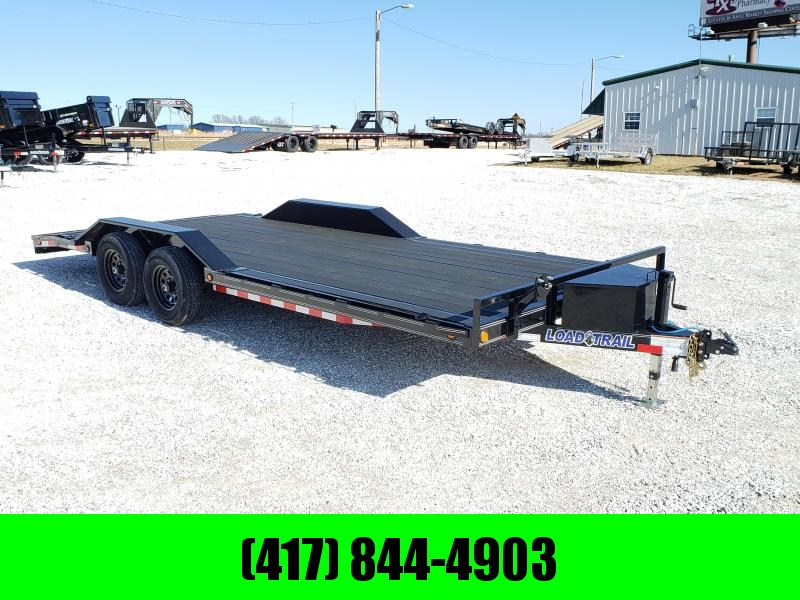 "2020 Load Trail 102"" x 20' Tandem Axle Carhauler W BLACK WOOD PRO FLOORING.  BLACK FRIDAY.... ONE DAY ONLY....  CALL TODAY 417-844-4903"