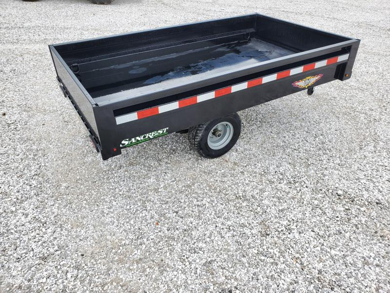 2020 H and H 4.5'X8' SINGLE AXLE HOMEOWNER DUMP