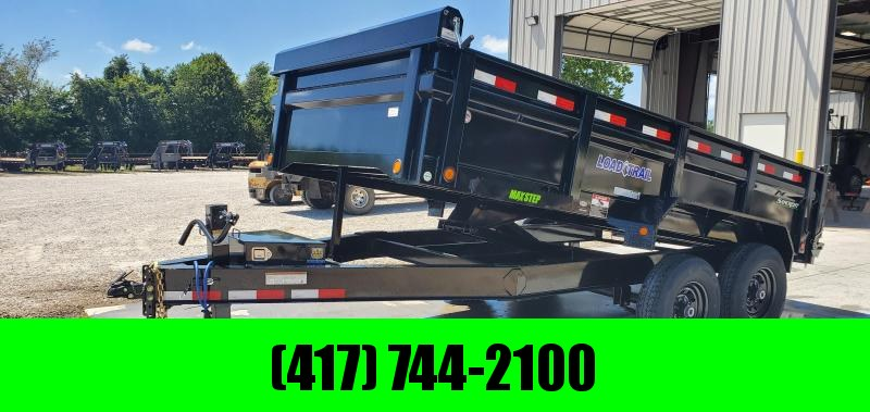 2019 Load Trail 83X14 TANDEM 14K DUMP TRAILER W/MAX STEP SPARE MOUNT & RAPID CHARGING SYSTEM