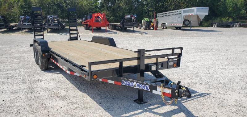 2019 Load Trail 83x22(20+2) TANDEM 14K CAR/EQUIPMENT HAULER W/STAND UP RAMPS