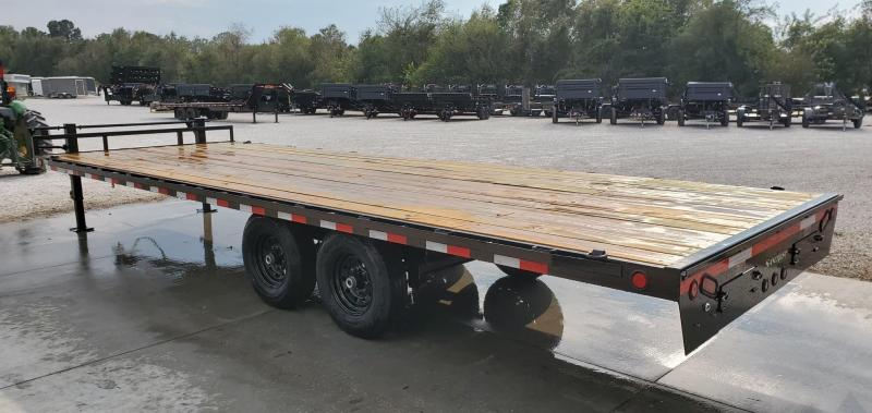 2020 Load Trail 102X24 TANDEM 14K DECKOVER W/ 8' SLIDE OUT RAMPS