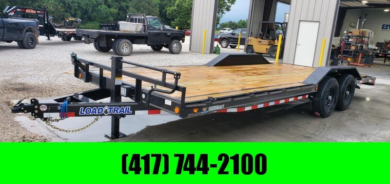 2020 Load Trail 102x22(19+3) TANDEM 14K CAR/EQUIPMENT HAULER W/SLIDE OUT RAMPS & DRIVE OVER FENDERS