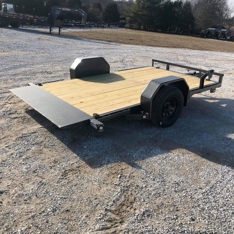 2020 MAXXD 77 X 12 SINGLE (ELEC. BRAKE) G4X GRAVITY TILT TRAILER