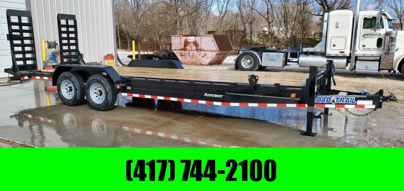 "2020 Load Trail 83X24 TANDEM 14K EQUIPMENT TRAILER W/8"" FRAME & HD EQUIPMENT RAMPS"